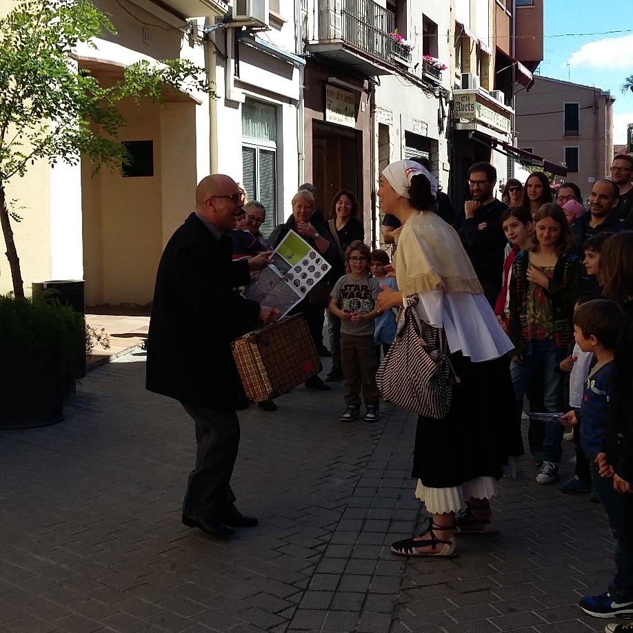Visita teatralitzada al centre de Sant Celoni PLACES EXHAURIDES Apunta't a la llista d'espera