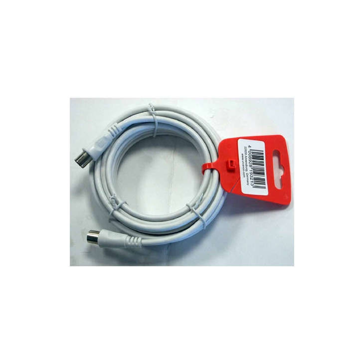 Cable antena coaxial (M)-(H) 75 OHM 3m